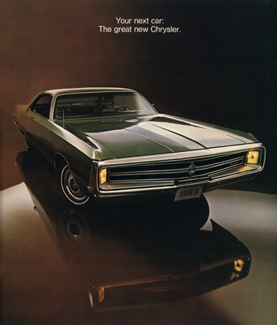 1969 Chrysler Sales Catalog Cover showing 300 Two-Door Hardtop