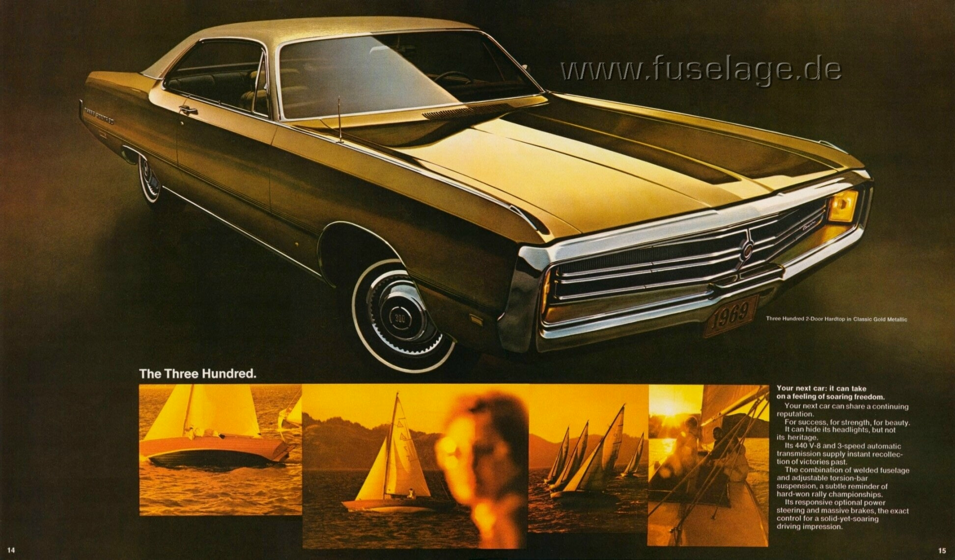 1969 Chrysler 300 Two-Door
