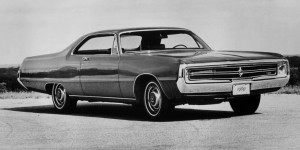 1969 Chrysler 300 two-door hardtop