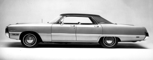 1969 Chrysler Newport Custom four-door hardtop