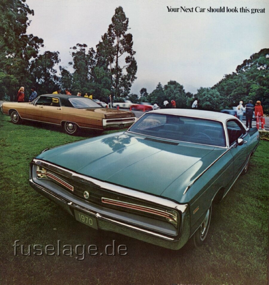 1970 Chrysler Catalog