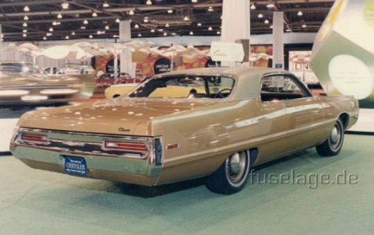 1970 Chrysler Cordoba at 1970 auto show