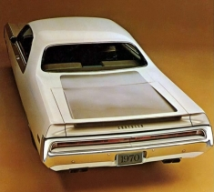 1970 Chrysler 300 Hurst Rear press photo
