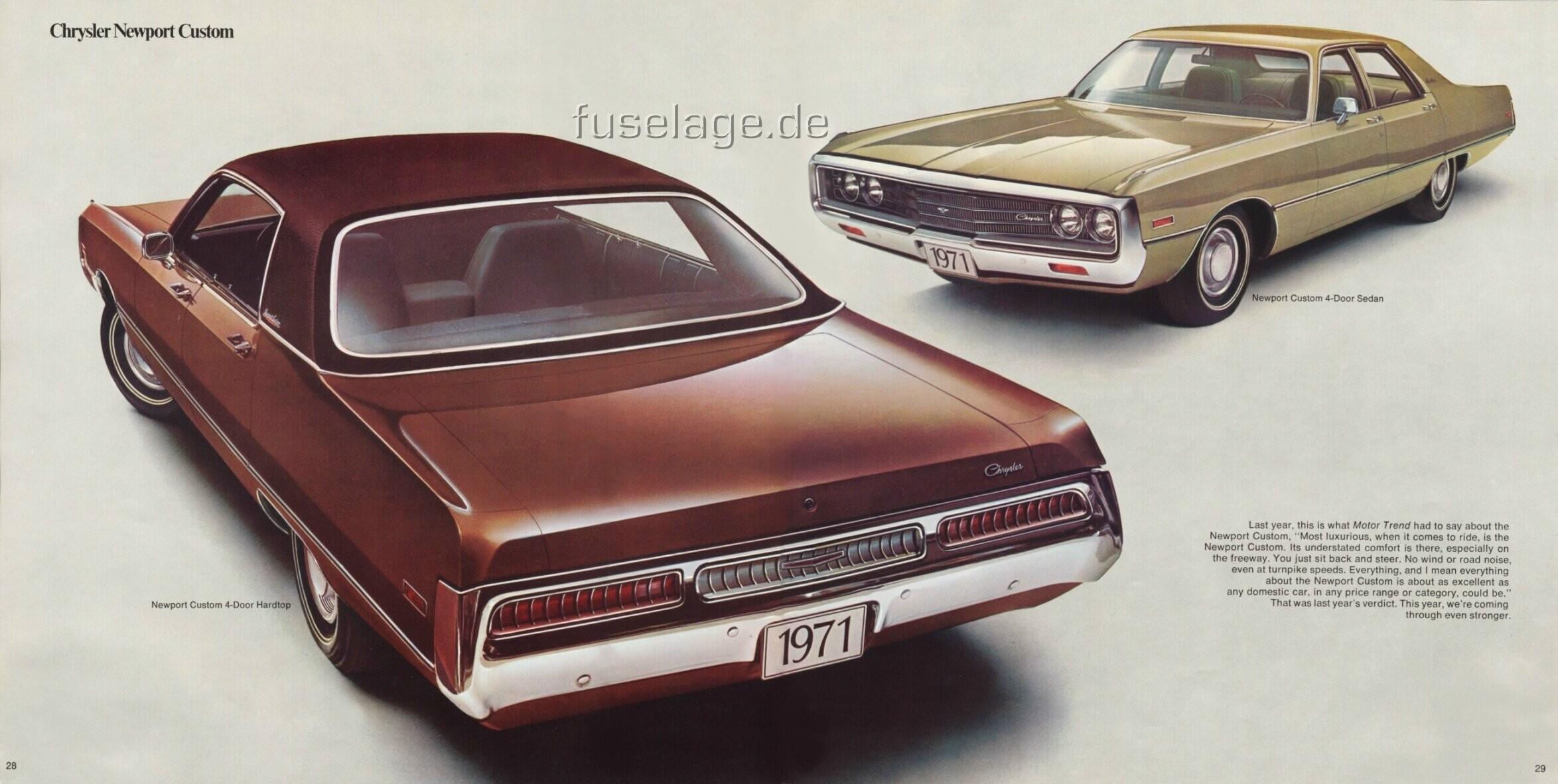1971 Chrysler Newport Custom