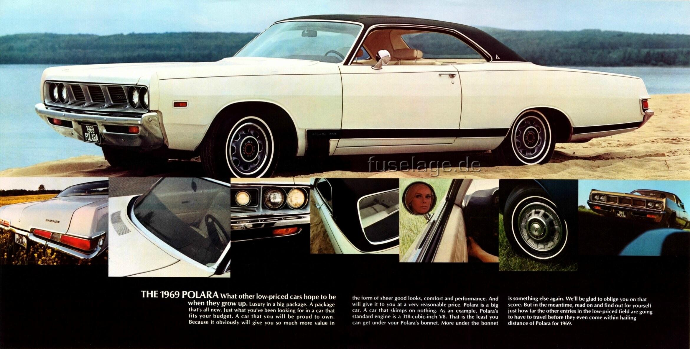 1969 Dodge Polara Catalog
