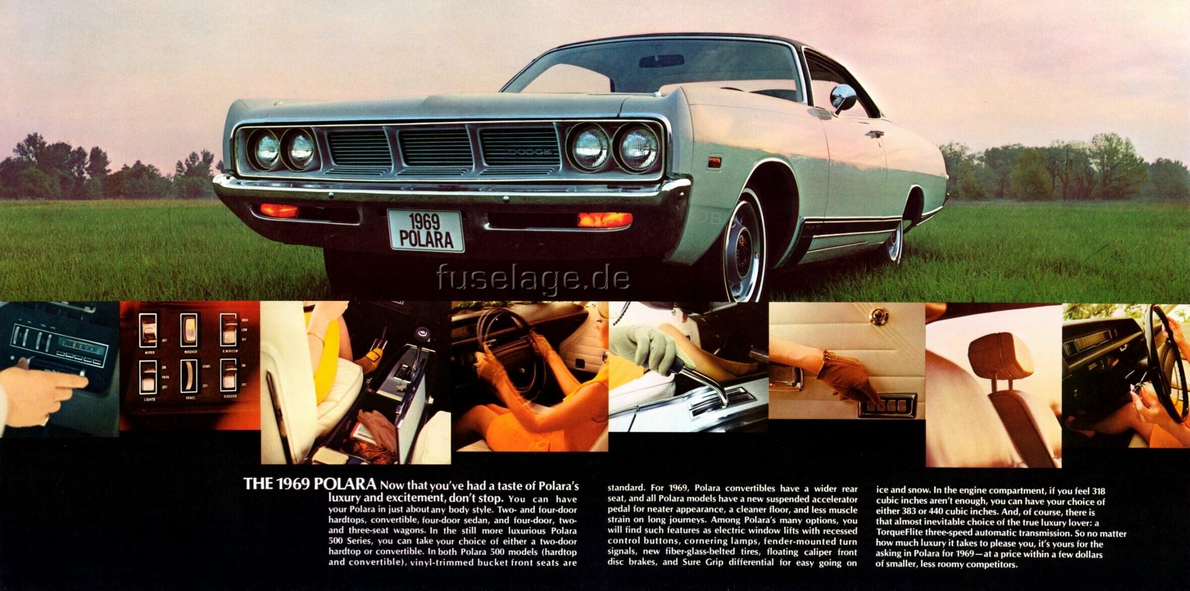 1969 Dodge Polara 500 two-door