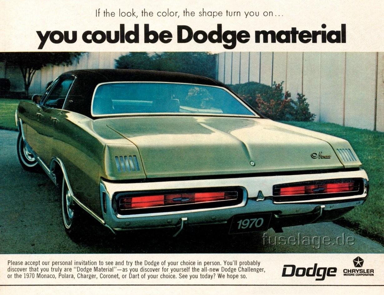 1970 Dodge Polara Monaco