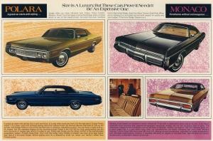 1972 Dodge Polara 2dr HT and Monaco 4dr HT