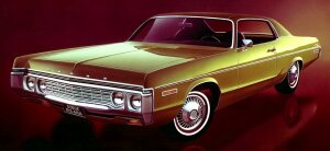 1972 Dodge Polara 2dr HT