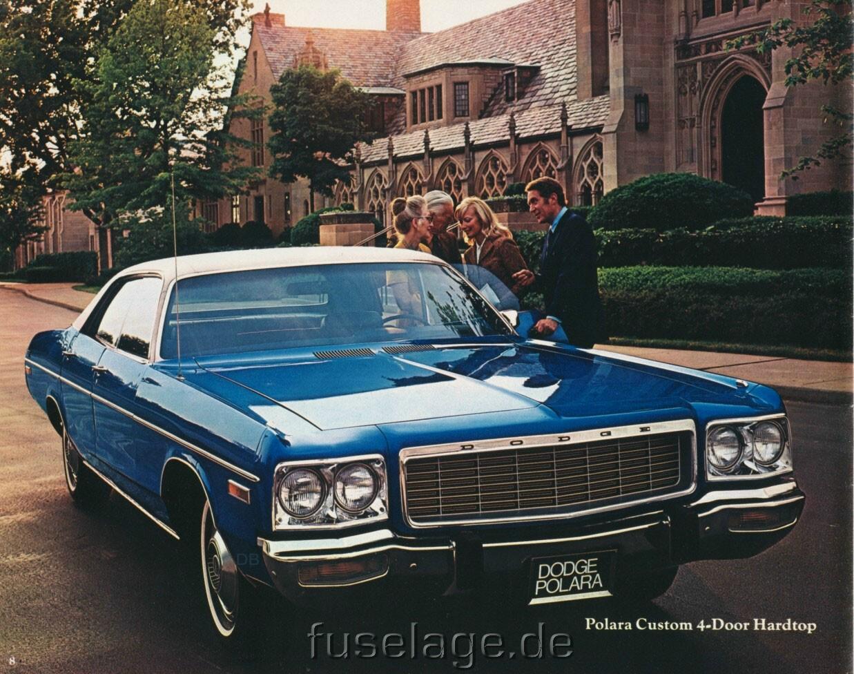 1973 Dodge Polara and Monaco Catalog