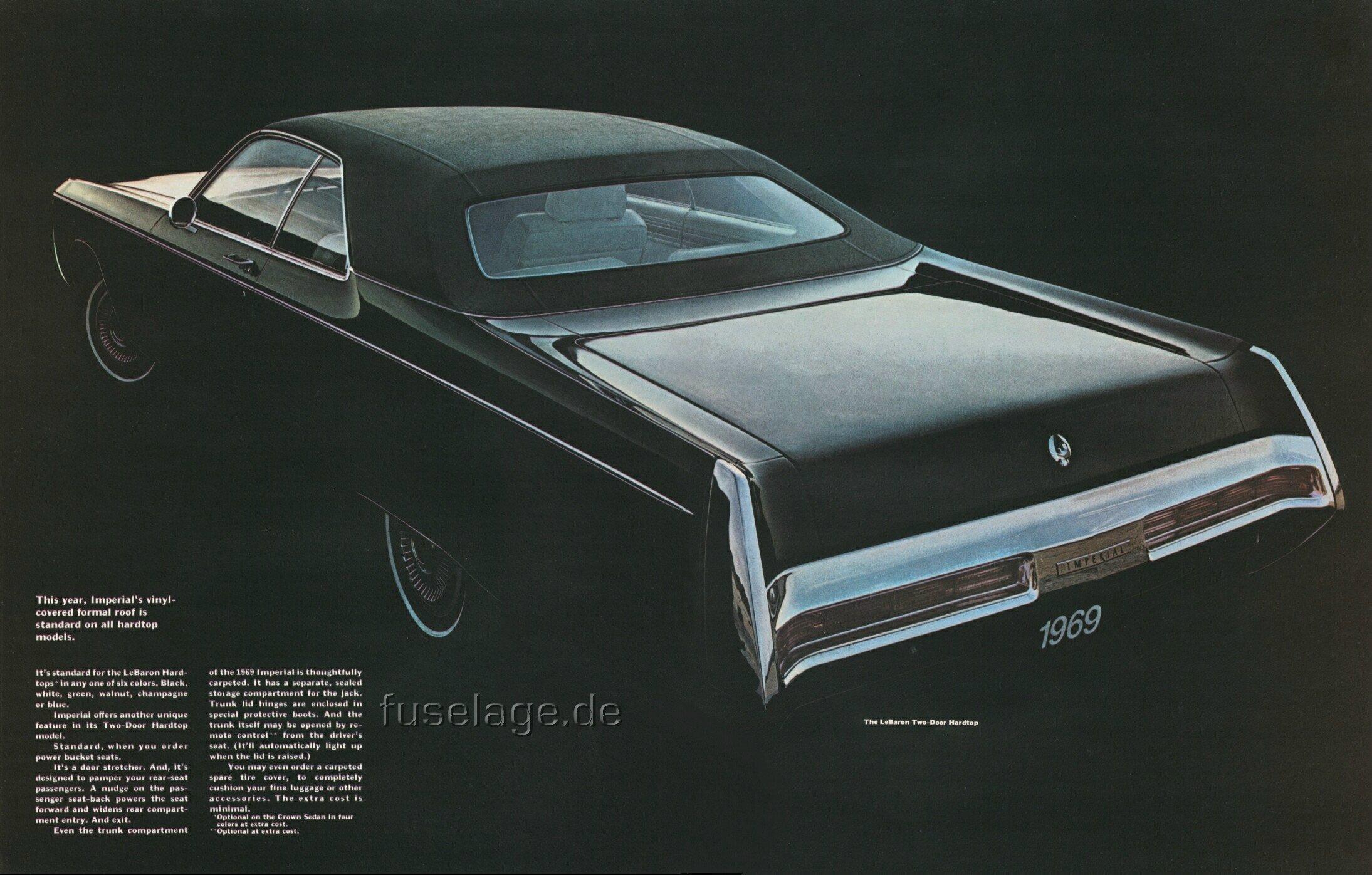 Chrysler Lebaron Coupe 1975 Chrysler Imperial Paint Codes