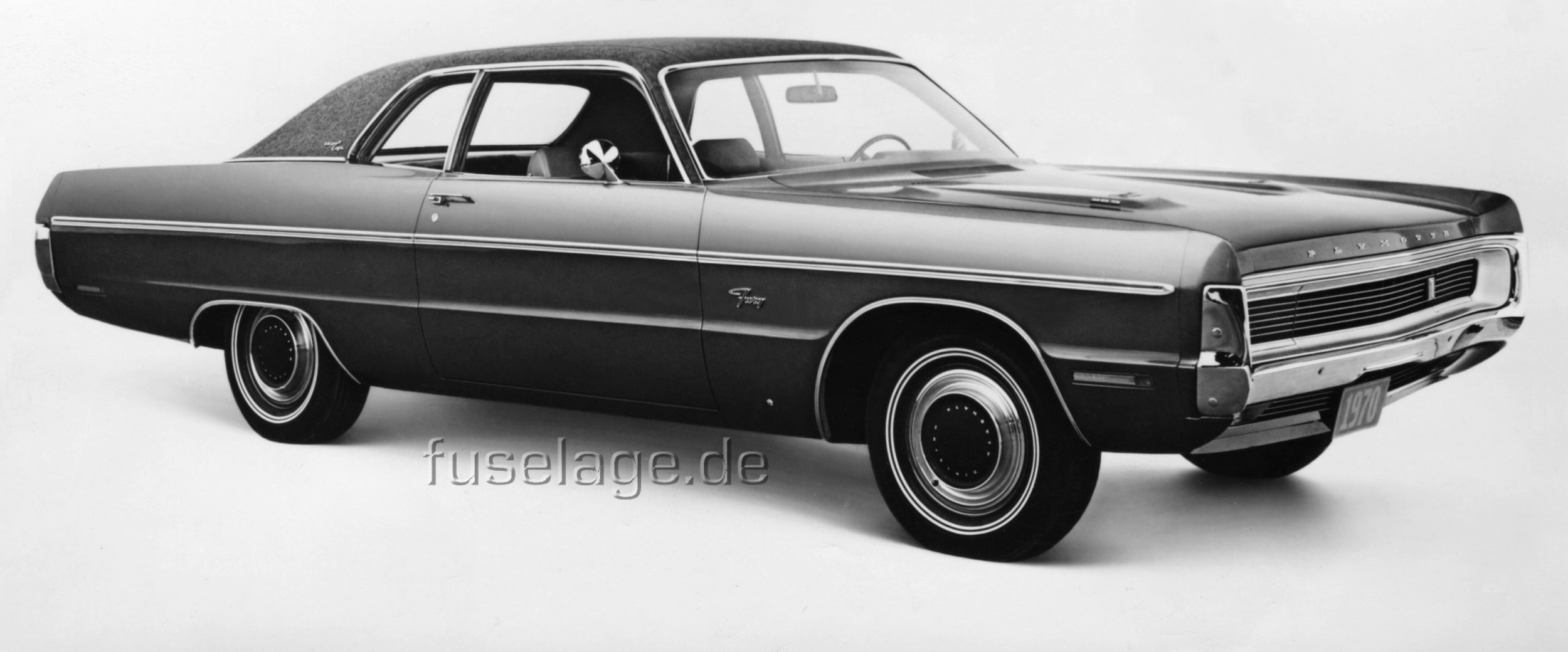 This is a press photo of the above mentioned 1970 plymouth fury
