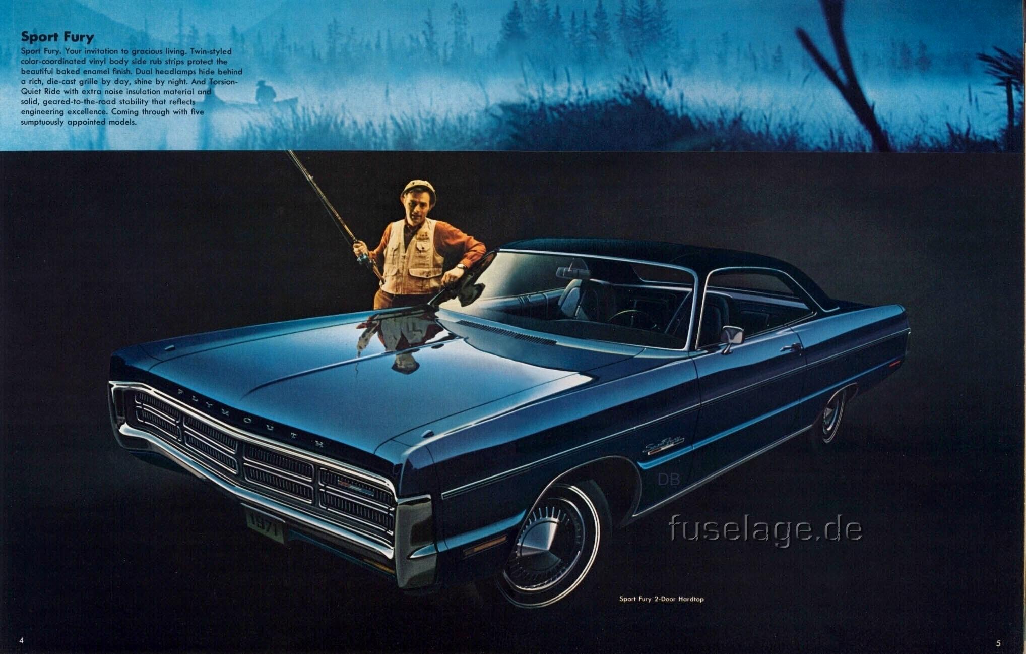 1971 Plymouth Sport Fury two-door hardtop