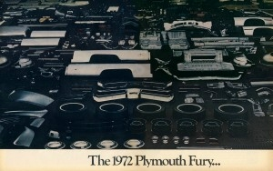 click to see firs two pages of the 1972 Plymouth quality theme magazine advertisement