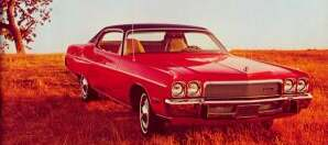 1972 Chrysler Corp. annual financial report showing Gran Coupe