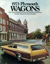 1973 Plymouth Station wagon catalog cover